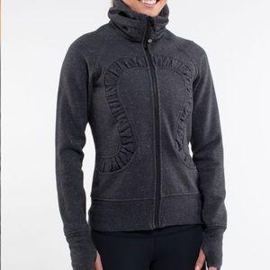 Lululemon Cuddle up zip front sweater jacket 4